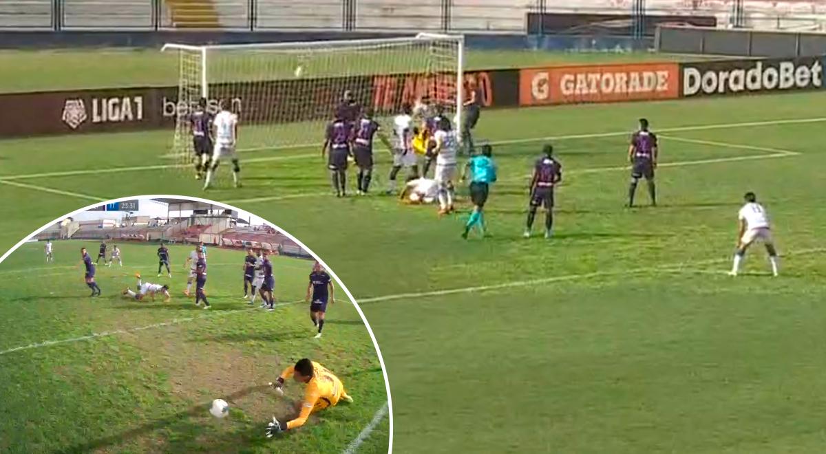 Alianza Lima se salva de milagro: Godoy, con Campos vencido, mandó la pelota al palo