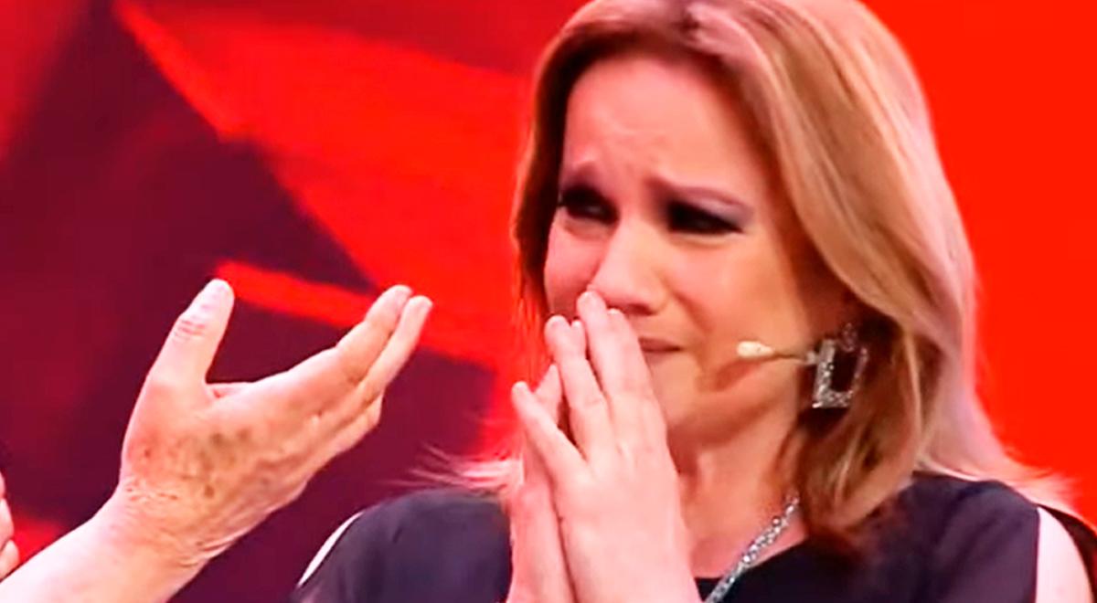 La Voz Senior: semifinalista hace llorar a Lucía Galán al cantarle una canción