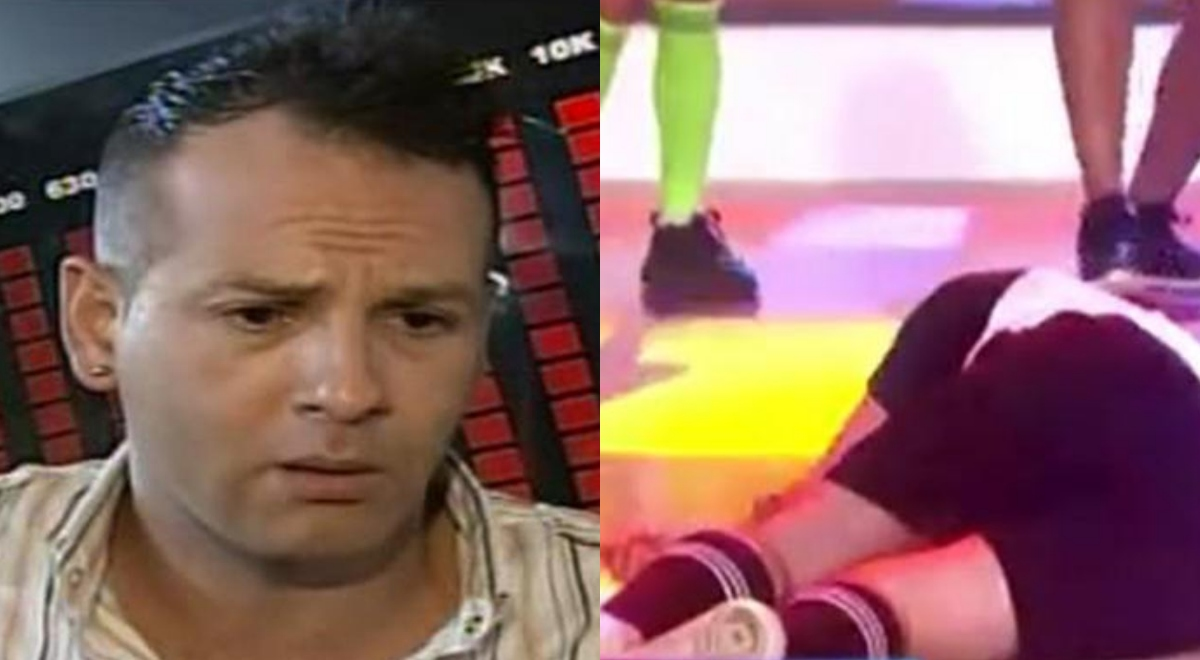 Ricky Trevitazzo sufre aparatosa caída EN VIVO tras peligrosa pirueta en EBT [VIDEO]