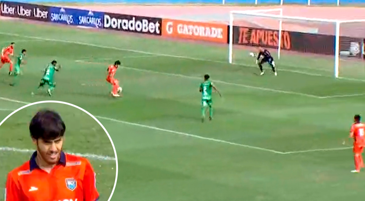 ¡Para qué te traje! Beto da Silva se come gol mano a mano con Ángel Zamudio [VIDEO]