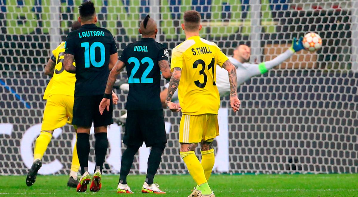 Sheriff Tiraspol, con Gustavo Dulanto, anotó un golazo ante Inter de Milán por Champions League