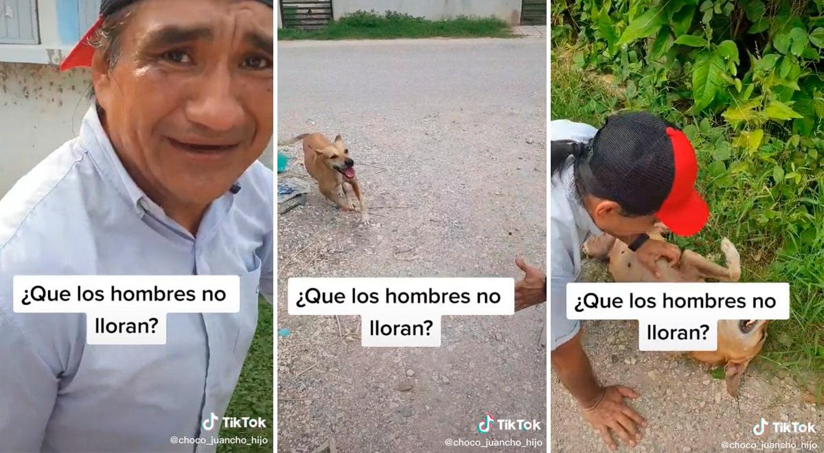 Hombre se encuentra con su perrita después de año y escena conmueve en redes sociales