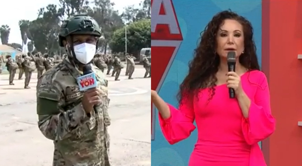 """Giselo parcha a Janet Barboza EN VIVO: """"A mí no me importa lo que hable la gente"""""""