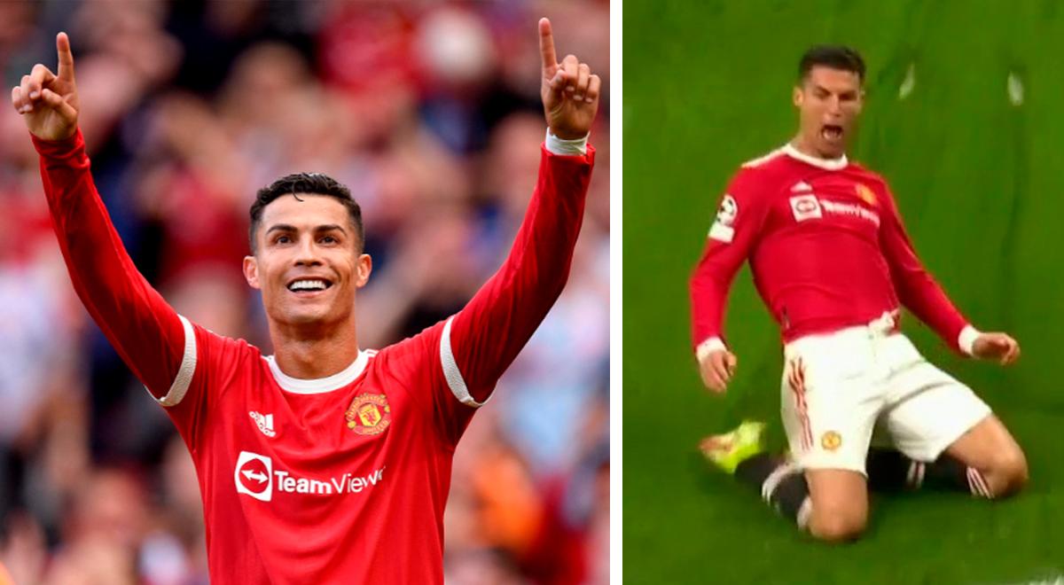 Cristiano Ronaldo salvó al Manchester United: anotó el 3-2 ante Atalanta en Champions League