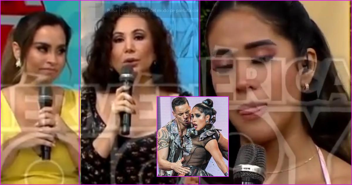 Melissa Paredes responde si está enamorada de su bailarín Anthony Aranda