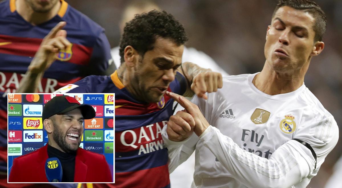 """Dani Alves calentó el Barcelona vs Real Madrid: """"El 5-0 aquí y el 6-2 allá fueron mágicos"""" [VIDEO]"""