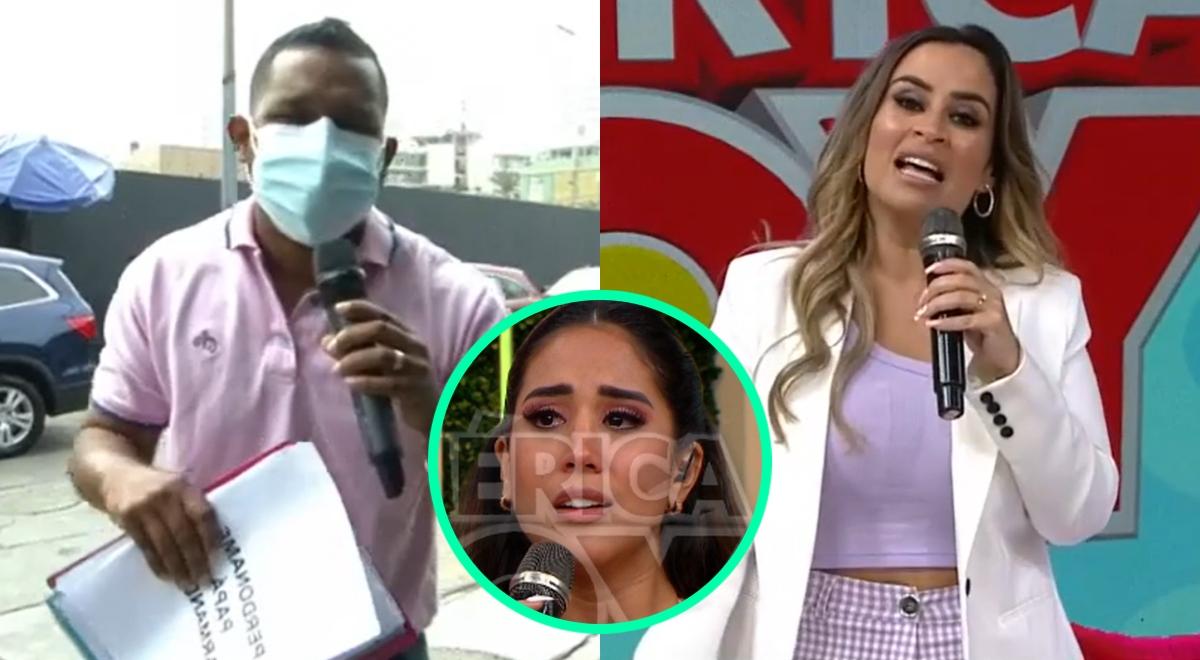 """Giselo trolea a Ethel Pozo por llorar tras ampay de Melissa Paredes: """"Más lágrimas tenía ella"""""""
