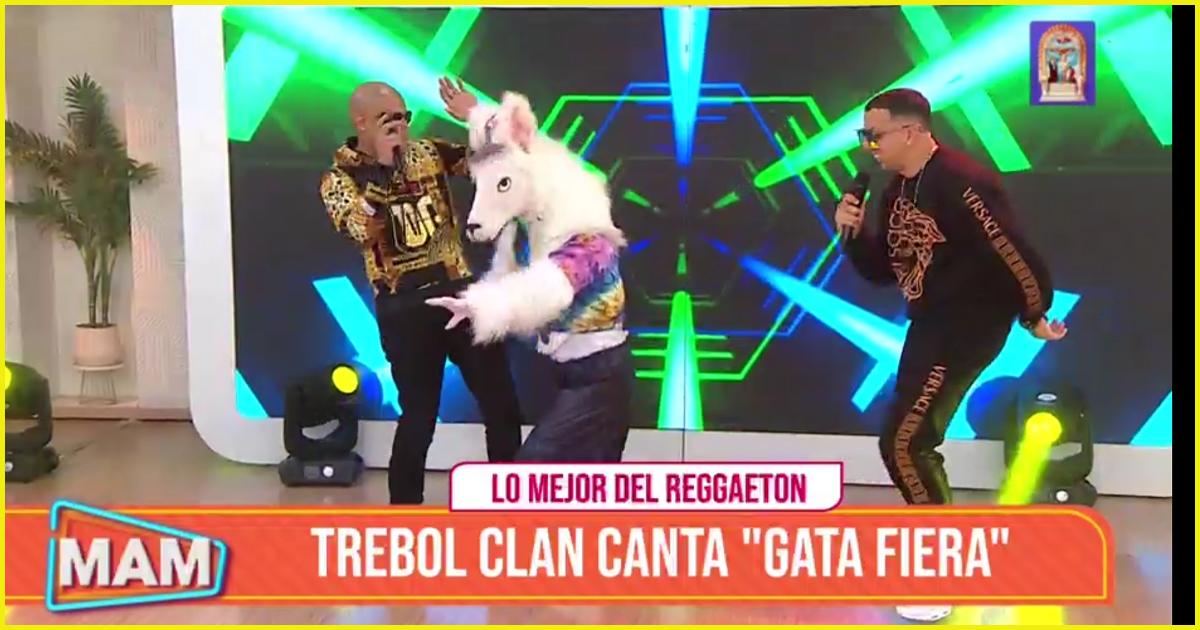 Trébol Clan hizo bailar a las conductores de Mujeres al Mando al ritmo de 'gata fiera'
