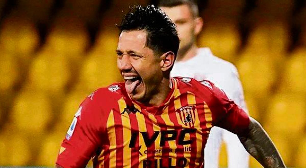 Gianluca Lapadula anota en la victoria del Benevento sobre Cosenza en el fútbol italiano