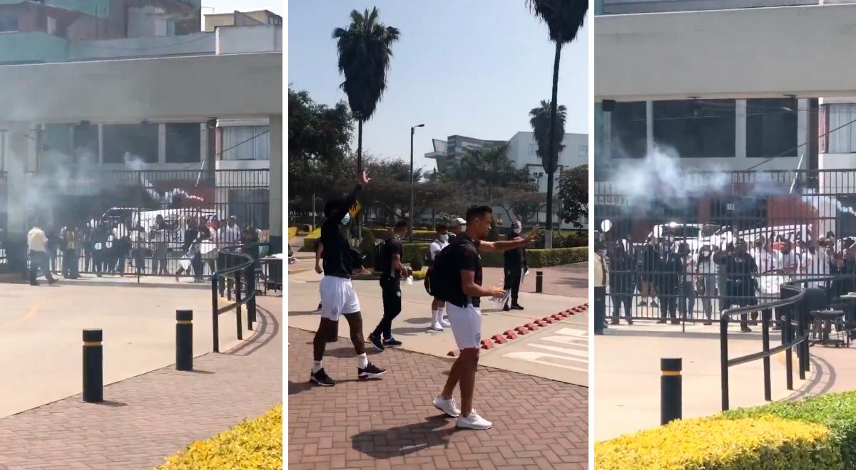 Hinchas de la San Martin alientan a jugadores para no irse a Segunda División  [VIDEO]