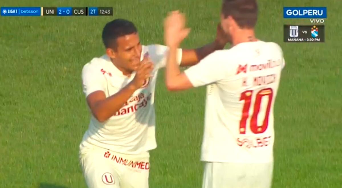 Alex Valera quiere seguir en la selección: anotó el 2-0 para Universitario ante Cusco FC