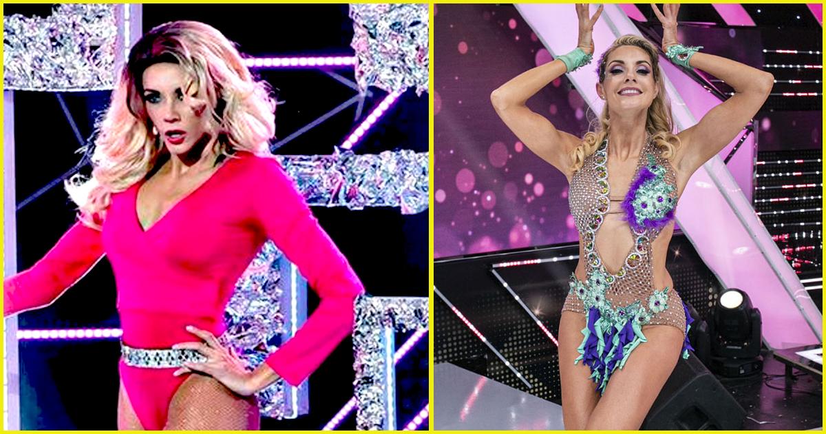 Brenda Carvalho hizo tremenda coreografía en 'efecto espejo' y sorprendió al jurado de Reinas del Show