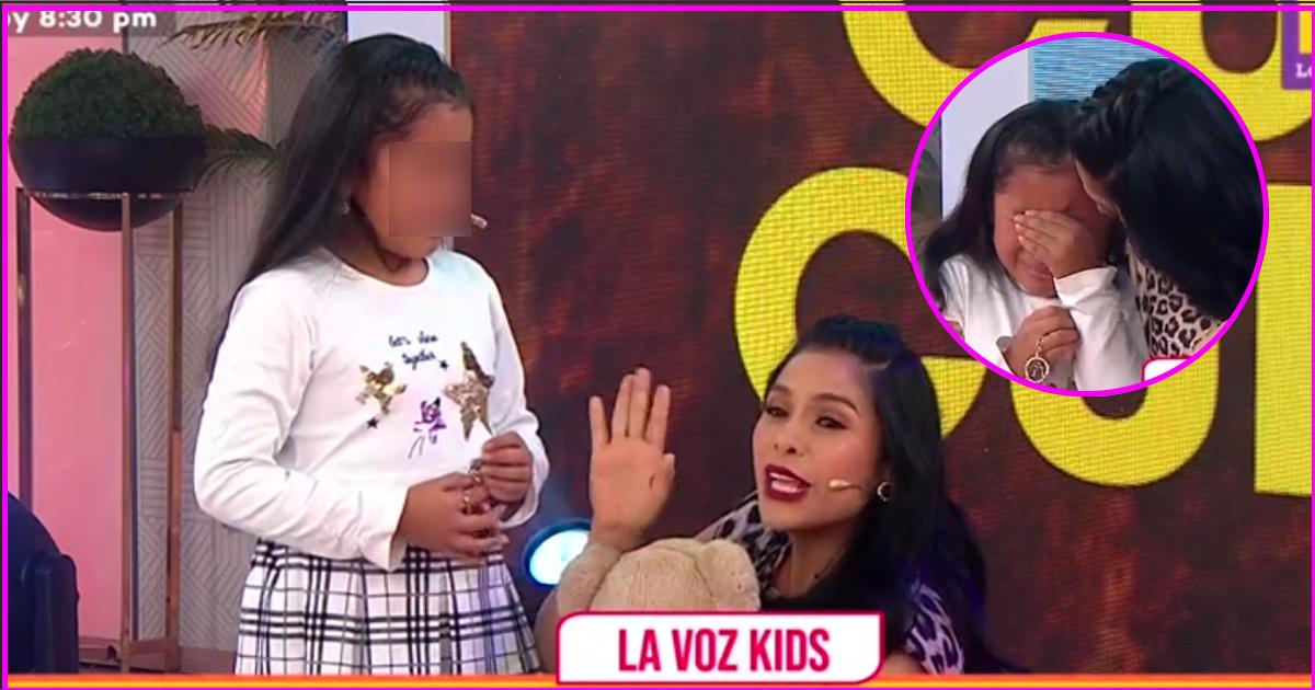 Maricarmen Marin sorprende a participante de La Voz Kids EN VIVO